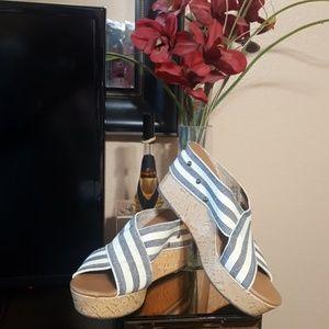 Sonoma Women's Wedge Heel Sandals Size 8